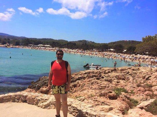 Playa de Cala Bassa: playa
