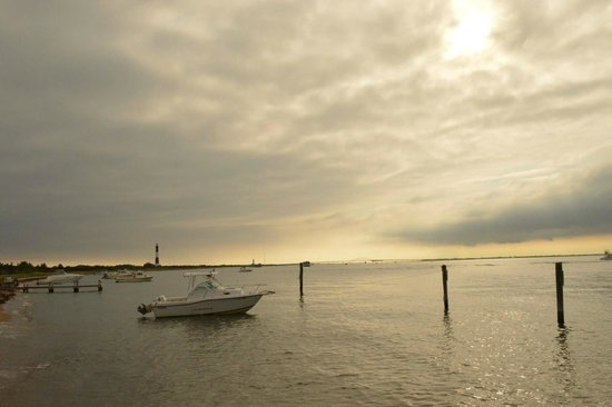 Fire Island Lighthouse : View from Kismet Port.