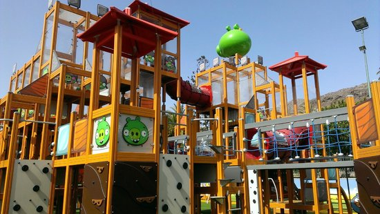 Angry Brids Activity Park
