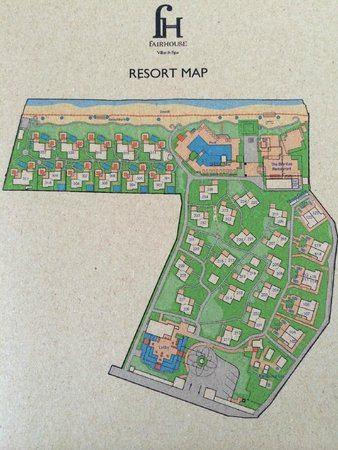 Fair House Villas & Spa: plan de l hotel