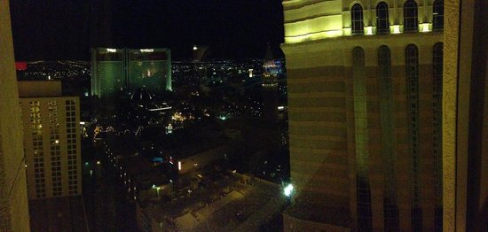Harrah's Las Vegas: Night Panorama from Carnival Tower