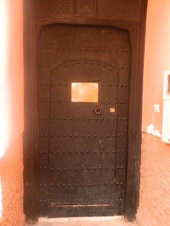 Riad Danka: la porte du ryad