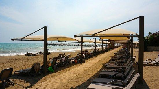 Bellis Deluxe Hotel : Пляж