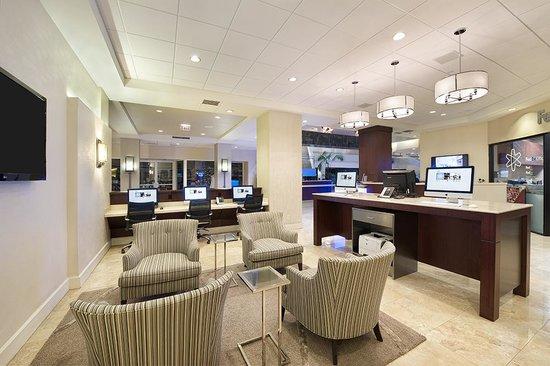 Hilton Orlando Lake Buena Vista - Disney Springs™ Area: Tech/Business Lounge