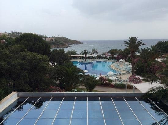 Paloma Club Sultan Ozdere: view from bar