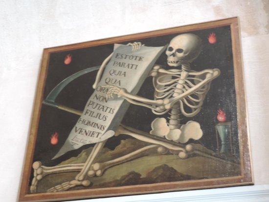 Musée Calvet : skeleton art