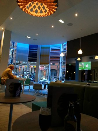 Novotel Manchester Centre: View From The Bar