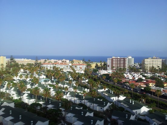 SENTIDO Gran Canaria Princess : the view from our room