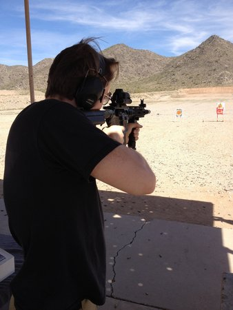 City of Casa Grande Mountain Park Public Shooting Range