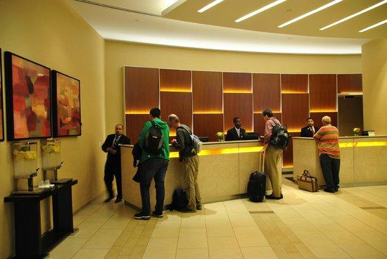 Boston Marriott Copley Place: hall d'entrée