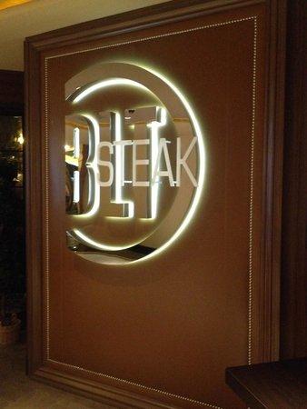 Bally's Steakhouse: Front Entrance Inside Bally's Las Vegas