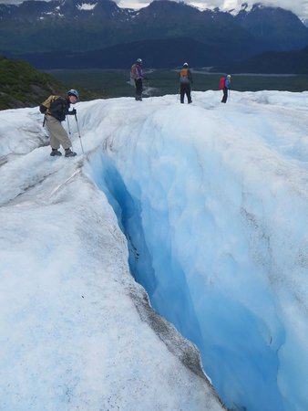 Exit Glacier Guides - Day Tours: Small-groups on the glacier meant direct interaction with the guides.