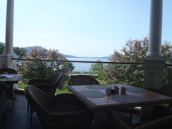 La Bella Vita Ristorante: View from the terrace