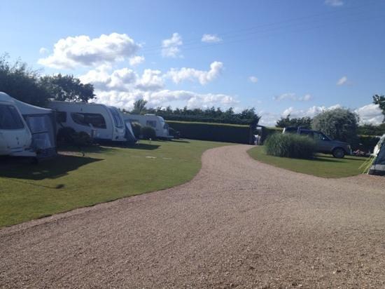 Ross Park Caravan Park : Ross Park - A beautifully kept site.