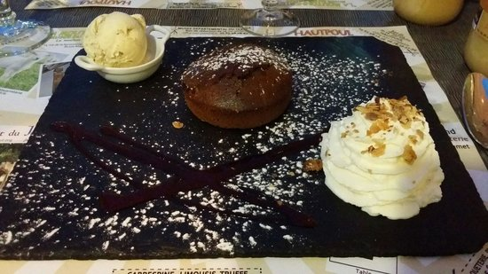 Le Grand Balcon: Le fondant chocolat