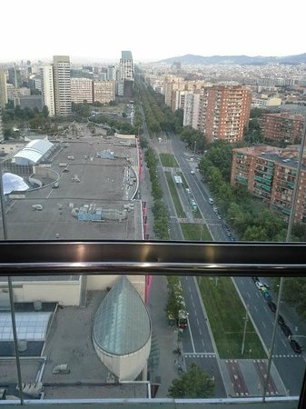 Barcelona Princess : View from the elevator
