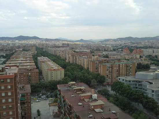 Barcelona Princess : View from the elevator area