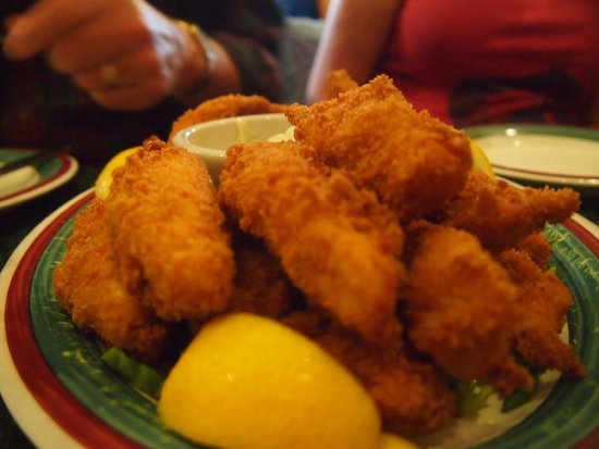 Apollo Restaurant: Fried fish appetizer
