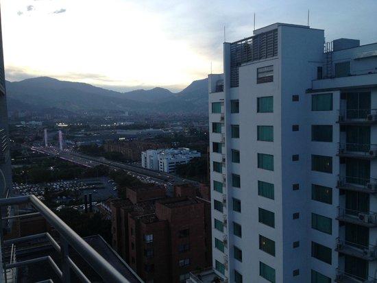 Affinity Apart Hotel : Vista desde la habitacion/apt 1202