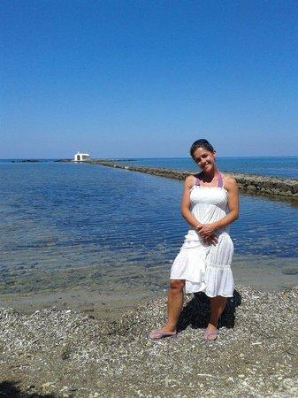 Agios Nikolaos Chapel : Suggestiva chiesetta sul mare