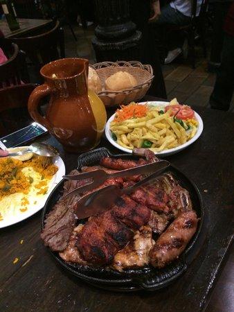 Venta El Buscon : Meat Platter - Sangria jug