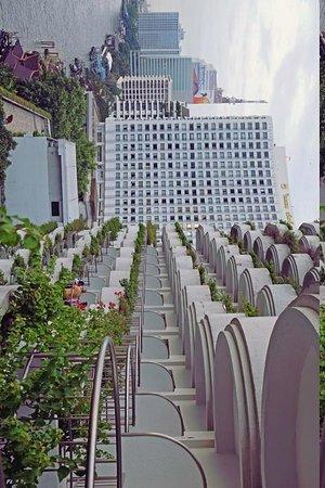 Shangri-La Hotel Bangkok: from my balcony: Krungthep deluxe balcony