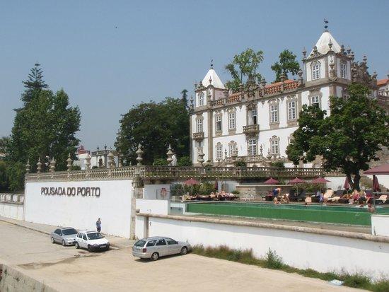 Pestana Palácio do Freixo: Vue du Douro