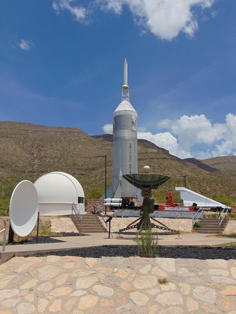 New Mexico Museum of Space History: rocket garden