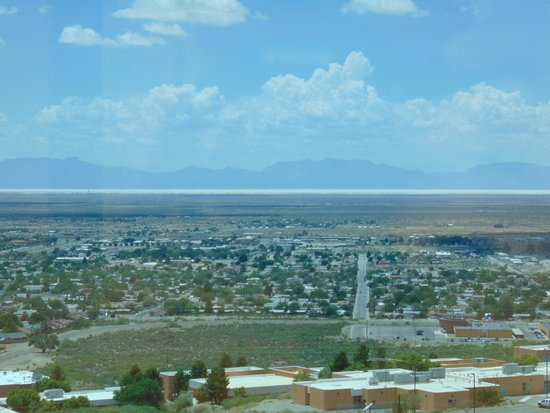 New Mexico Museum of Space History: view from the museum