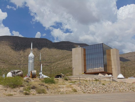 New Mexico Museum of Space History: exterior