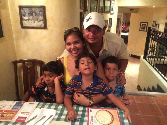 Italiannis : Festejando el Cumple de mi Esposa!!!