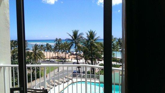 Park Shore Waikiki: Oceanview 5. Etage