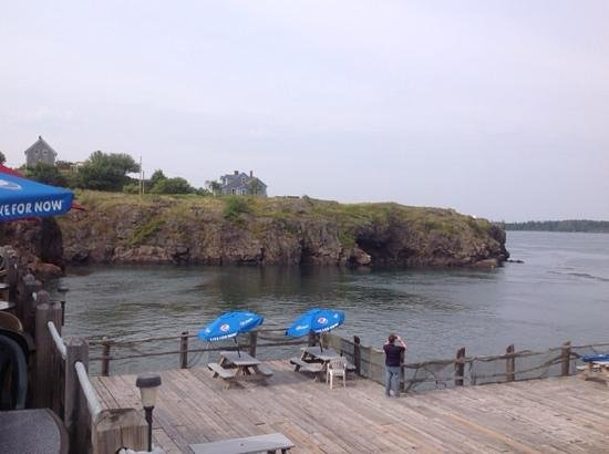 Eastport Chowder House: view from the upper deck