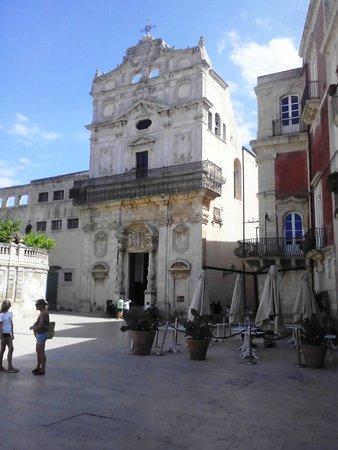 Chiesa di Santa Lucia alla Badia: un meritevole Caravaggio