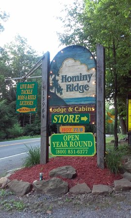 Hominy Ridge Lodge and Cabins: Welcome!