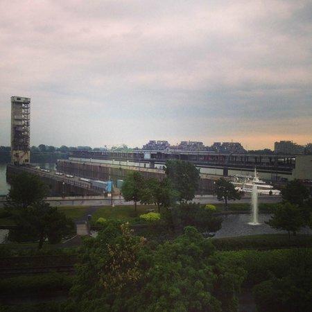 Auberge de la Place Royale: View from 302