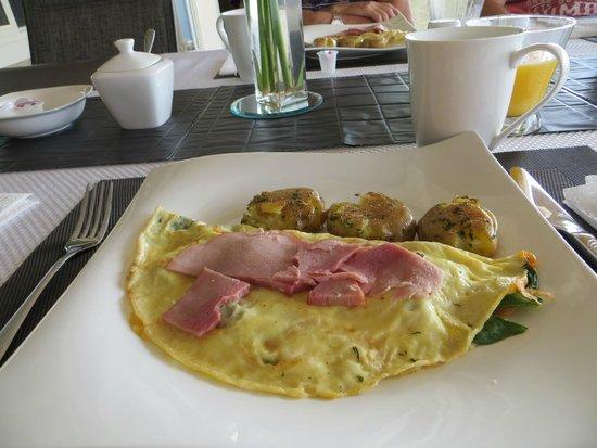 Bella Luna bed and breakfast: Lovely Breakfast