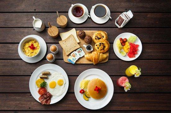 Chandra Luxury Villas Bali : American Breakfast