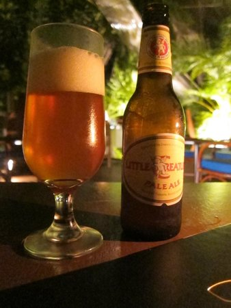 Nautilus Restaurant: Little Creature Pale Ale at Nautilus