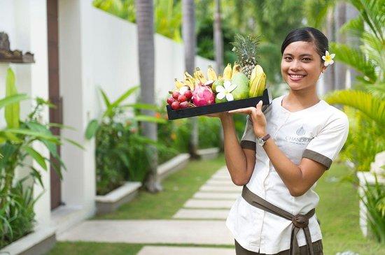 Chandra Luxury Villas Bali : Butler