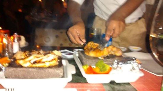 Savoy Sharm El Sheikh: excellent meal