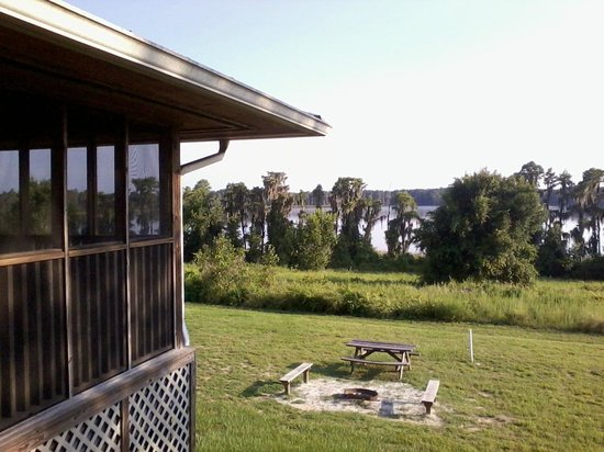 Porch picture of lake louisa state park camping cabins for Florida state parks cabins