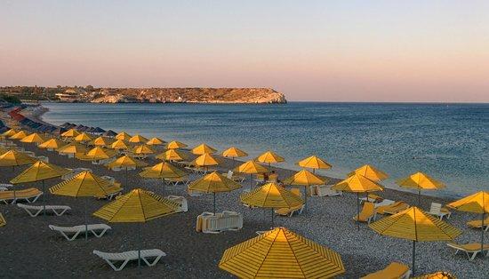 Kolymbia Beach Hotel : Beach