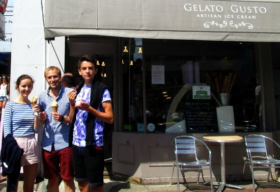 Gelato Gusto: About to savour our delights