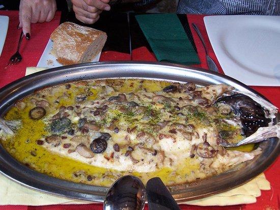 Restaurante Ibéricos Jose: Gratin hake with foie