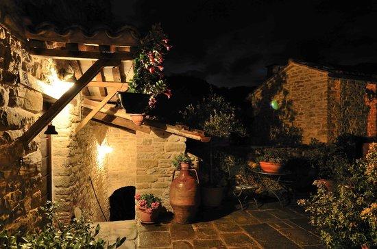 Castello della Pieve : Scorcio notturno