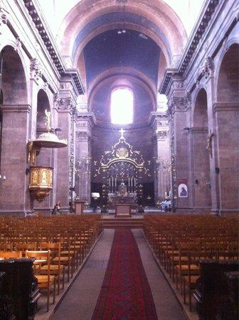 Cathedrale de Belfort: Inside
