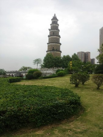 Tianran Tower: a beautiful day in late spring 2014