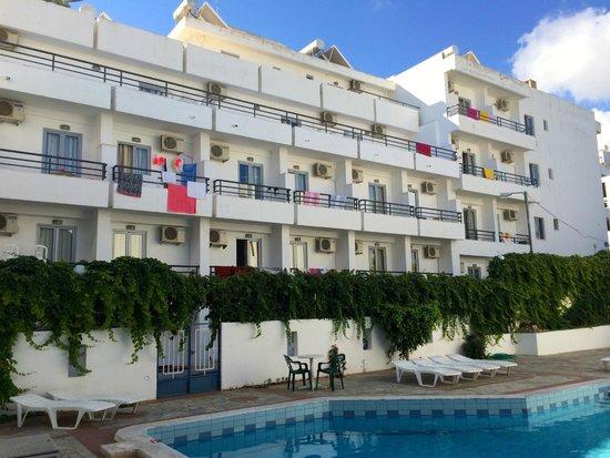 Hotel Iro: Внутренний двор