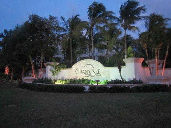 Grand Isle Resort & Spa: Hotel Entry